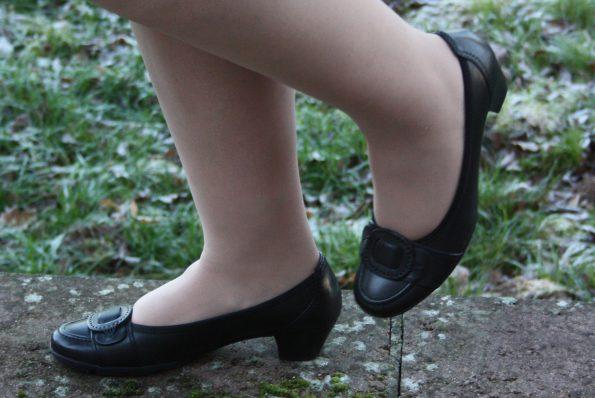 Schuhe von Gabor - es läuft sich richtig gut darin - den ganzen Tag lang