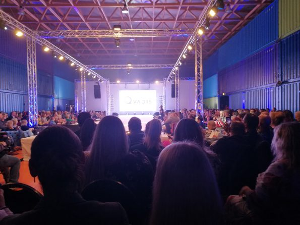 Plus Size Fashion Days 2017 - Blick auf den Catwalk