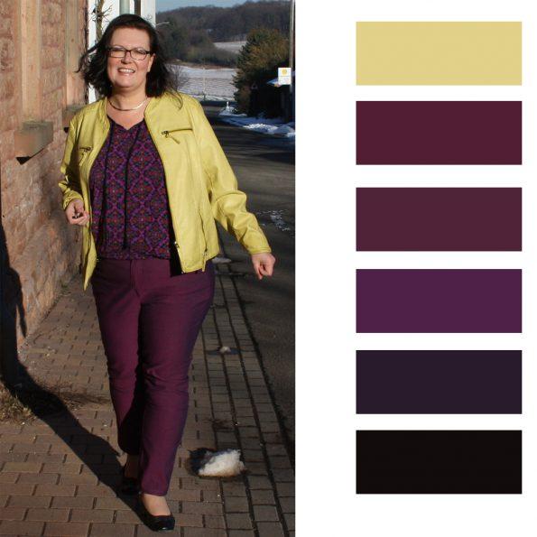 Trendfarbe Violett