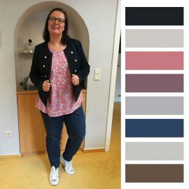 Office-Outfit aus April 2019