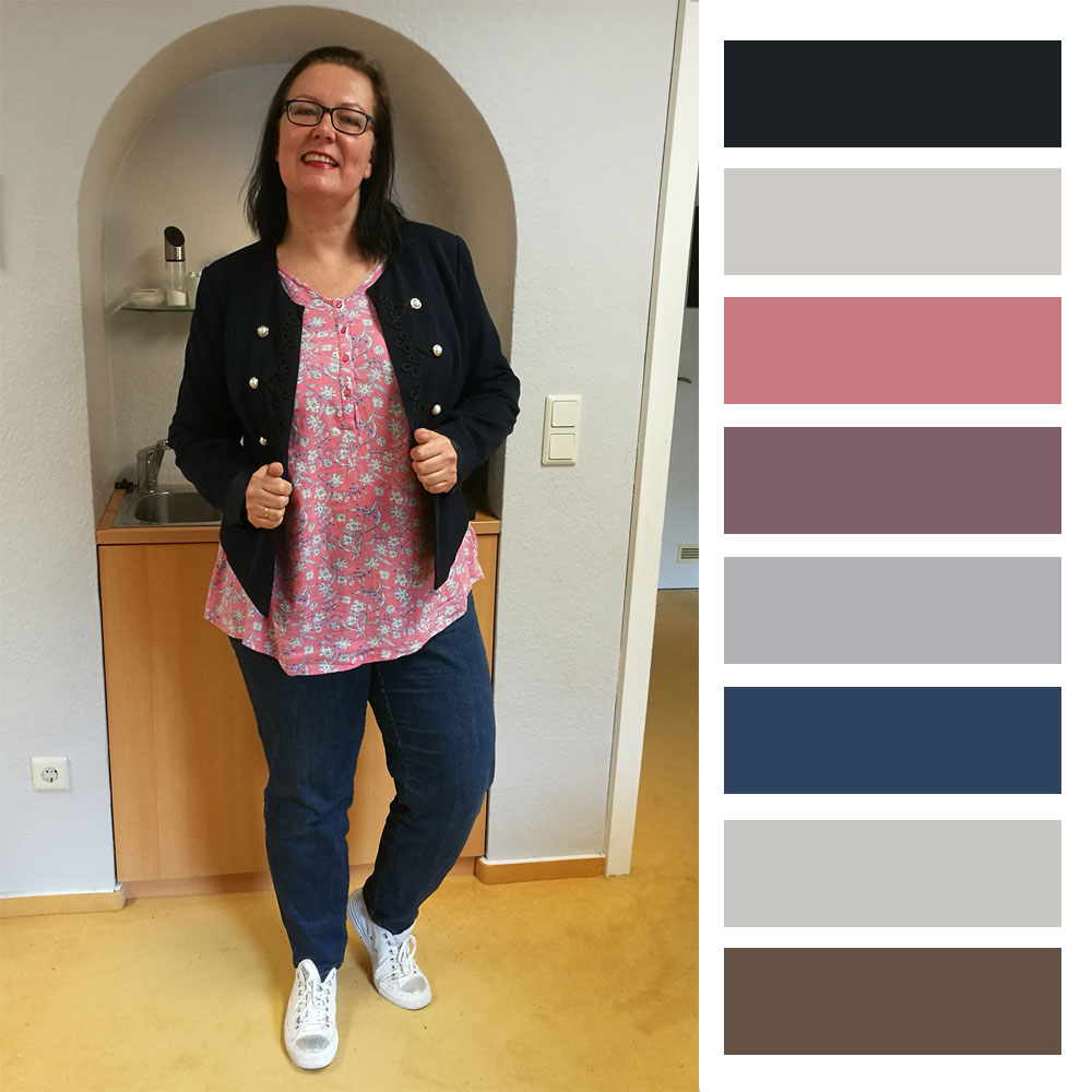 Office-Outfit aus April 2019