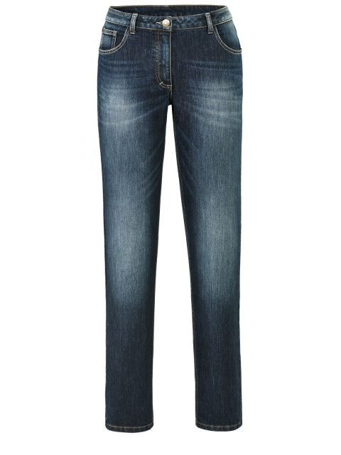 Jeans Carla Slimfit dunkelblau Angel of Style